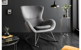 Designer Lounge Sessel BERGEN GREY