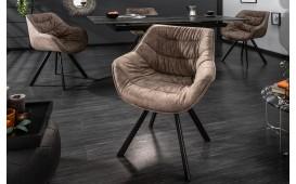 2 x Designer Stuhl SOLACE DARK BEIGE