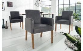 Designer Stuhl ROSSI GREY II MIT ARMLEHNE von NATIVO™ Designer Möbel Österreich