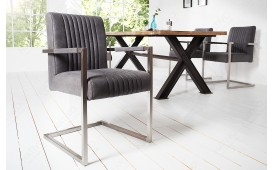 Designer Stuhl VILLA VINTAGE MIT ARMLEHNE von NATIVO™ Designer Möbel Österreich