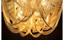 Designer Hängeleuchte QUEEN SILVER 70 cm NATIVO™ Möbel Österreich