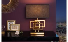 Designer Tischleuchte LEONOTIS GOLD