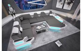 Designer Sofa NEMESIS XXL mit LED Beleuchtung & USB Anschluss von NATIVO™ Designer Möbel Österreich