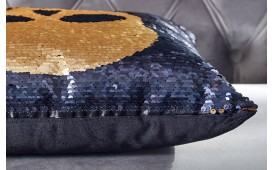 Designer Kissen BONE GOLD-BLACK  NATIVO™ Möbel Österreich