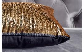 Designer Kissen GLOSSY GOLD-BLACK NATIVO™ Möbel Österreich