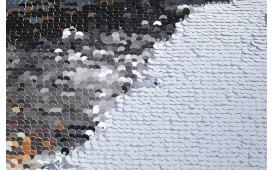 Designer Kissen GLOSSY SILVER-WHITE NATIVO™ Möbel Österreich
