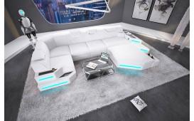 Designer Sofa NEMESIS XL mit LED Beleuchtung & USB Anschluss von NATIVO™ Designer Möbel Österreich