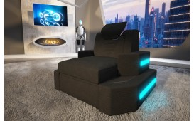 Sessel NEMESIS mit LED Beleuchtung & USB Anschluss NATIVO™ Möbel Österreich