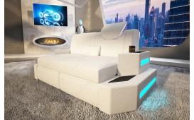 2 Sitzer Sofa NEMESIS mit LED Beleuchtung & USB Anschluss NATIVO™ Möbel Österreich