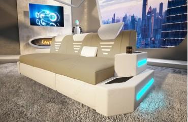 3 Sitzer Sofa NEMESIS mit LED Beleuchtung & USB Anschluss NATIVO™ Möbel Österreich