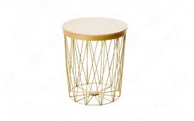 Designer Couchtisch CAGE II GOLD von NATIVO™ Designer Möbel Österreich