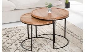 Designer Beistelltisch UNITY BLACK SET 2 von NATIVO™ Designer Möbel Österreich