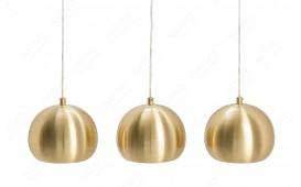 Designer Hängeleuchte GLOBE GOLD 3 von NATIVO™ Designer Möbel Österreich