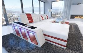 Designer Sofa CAREZZA MINI mit LED Beleuchtung