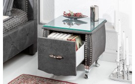 Designer Beistelltisch FLOURISH DARK GREY 45 cm NATIVO™ Möbel Österreich
