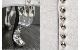 Designer Beistelltisch FLOURISH WHITE 45 cm NATIVO™ Möbel Österreich