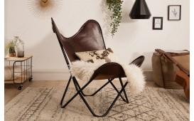 Designer Lounge Sessel ASTRA BROWN II