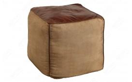 Designer Sitzhocker PINTO BROWN 45 cm von NATIVO™ Designer Möbel Österreich