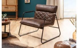 Designer Lounge Sessel COLT BROWN