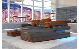 Designer Sofa EXODUS MINI mit LED Beleuchtung & USB Anschluss