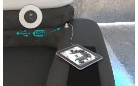 Designer Sofa EXODUS XXL mit LED Beleuchtung & USB Anschluss NATIVO™ Möbel Österreich