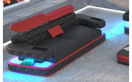 Designer Sofa EXODUS 2 mit LED Beleuchtung & USB Anschluss