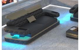 Designer Sofa EXODUS 2 mit LED Beleuchtung & USB Anschluss von NATIVO™ Designer Möbel Österreich