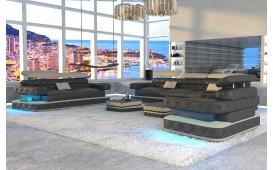 Designer Sofa EXODUS 3+2+1 mit LED Beleuchtung & USB Anschluss von NATIVO™ Designer Möbel Österreich