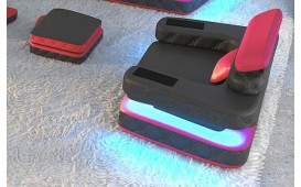 Designer Sofa EXODUS 1- Sitzer mit LED Beleuchtung & USB Anschluss von NATIVO™ Designer Möbel Österreich