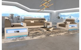 Designer Sofa AVATAR 3+2+1 mit LED Beleuchtung & USB Anschluss von NATIVO™ Designer Möbel Österreich