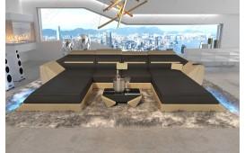 Designer Sofa AVATAR XXL DUO mit LED Beleuchtung & USB Anschluss von NATIVO™ Designer Möbel Österreich