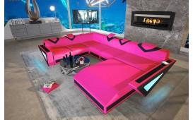 Designer Sofa FALCO XXL mit LED Beleuchtung & USB Anschluss von NATIVO™ Designer Möbel Österreich