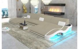 Designer Sofa DIABLO XXL DUO mit LED Beleuchtung & USB Anschluss von NATIVO™ Designer Möbel Österreich