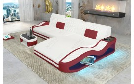 Designer Sofa DIABLO MINI mit LED Beleuchtung & USB Anschluss