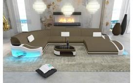 Designer Sofa DIABLO XL mit LED Beleuchtung & USB Anschluss von NATIVO™ Designer Möbel Österreich