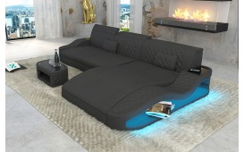 Designer Sofa DIABLO MINI mit LED Beleuchtung & USB Anschluss von NATIVO™ Designer Möbel Österreich