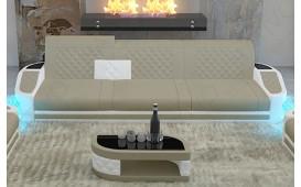 3 Sitzer Sofa DIABLO mit LED Beleuchtung & USB Anschluss von NATIVO™ Designer Möbel Österreich