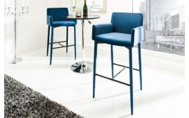 Designer Barhocker TORINO ROYAL BLUE