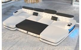 Designer Sofa EXODUS XXL DUO mit LED Beleuchtung & USB Anschluss von NATIVO™ Designer Möbel Österreich
