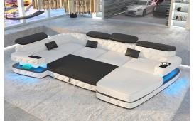 Designer Sofa EXODUS XL mit LED Beleuchtung & USB Anschluss von NATIVO™ Designer Möbel Österreich