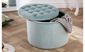 Designer Sitzhocker ROCCO BIG MINT 50 cm von NATIVO™ Designer Möbel Österreich