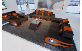 Designer Sofa HERMES 3+2+1 mit LED Beleuchtung NATIVO™ Möbel Österreich