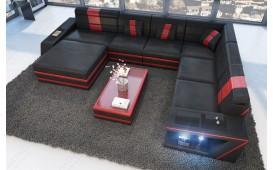 Designer Sofa CAREZZA XXL mit LED Beleuchtung NATIVO™ Möbel Österreich