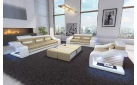 Designer Sofa MIRAGE 3+2+1 mit LED Beleuchtung NATIVO™ Möbel Österreich