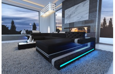 Designer Sofa IMPERIAL XL mit LED Beleuchtung (INFINITY 24 / INFINITY 21) AB LAGER