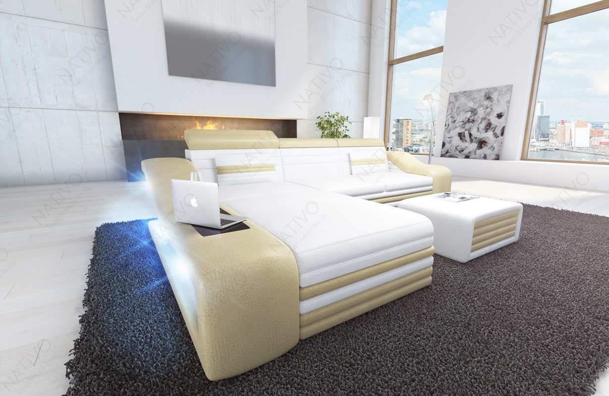 ledersofa mirage mini bei nativo m bel oesterreich g nstig. Black Bedroom Furniture Sets. Home Design Ideas