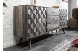 Designer Sideboard ARABICA GREY 145 cm