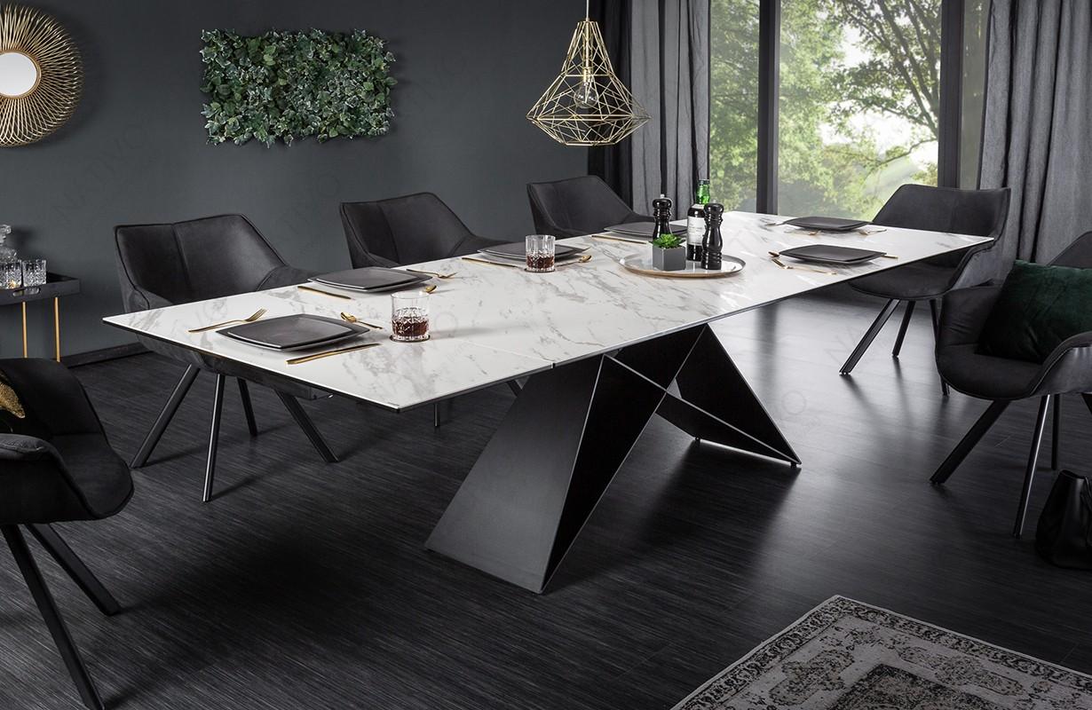 Esstisch CRONOS MARMOR 180 260 cm von NATIVO Designer Möbel Österreich