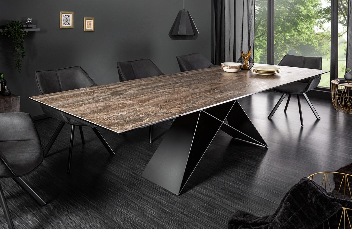 Esstisch CRONOS ROST 180 260 cm von NATIVO Designer Möbel Österreich