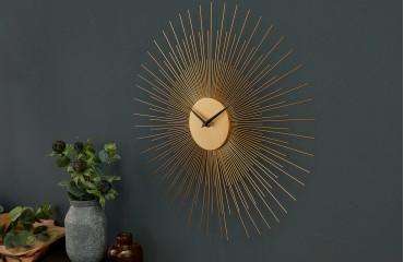 Designer Wanduhr SUN GOLD 50 cm von NATIVO™ Designer Möbel Österreich